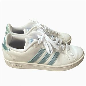 Adidas Ground Court Pastel Blue Womens Sneakers